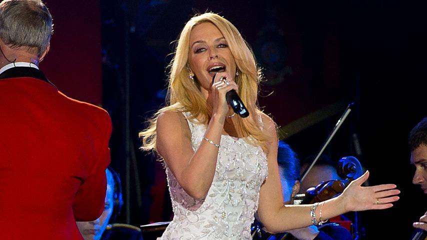 Kylie Minogue trägt Ralph & Russo