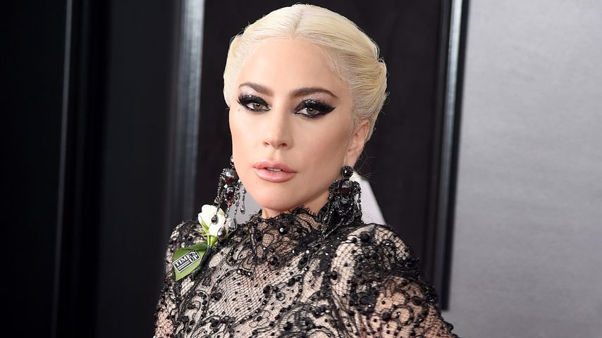 Lady Gaga bei den Grammys in New York