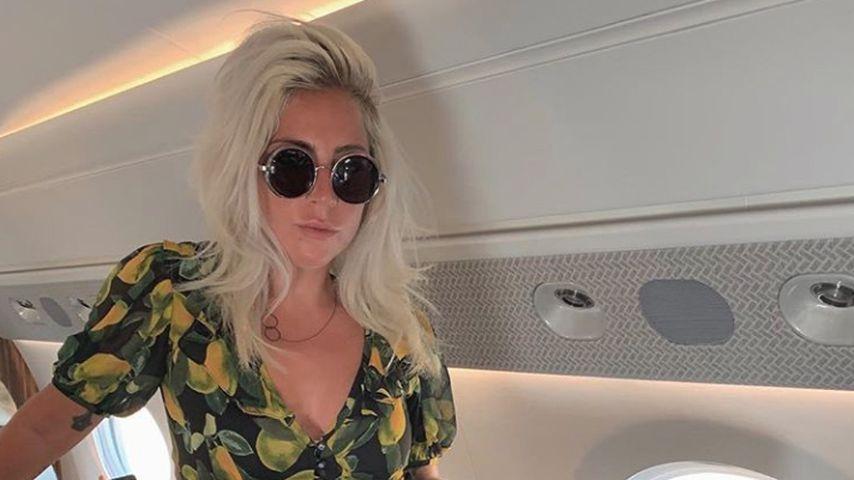 Lady Gaga im Marc Jacobs-Kleid im Mai 2019