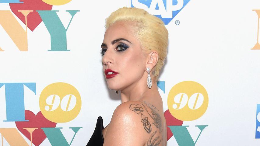 Lady Gaga bei der Party zum 90. Geburtstag von Tony Bennett