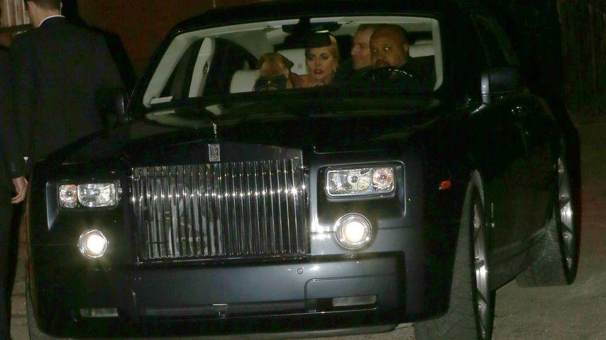 Lady GaGa und Christian Carino nach der Grammy Awards After Show Party 2017 in Los Angeles