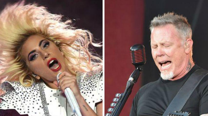 Power-Duett: Lady Gaga & Metallica performen bei den Grammys