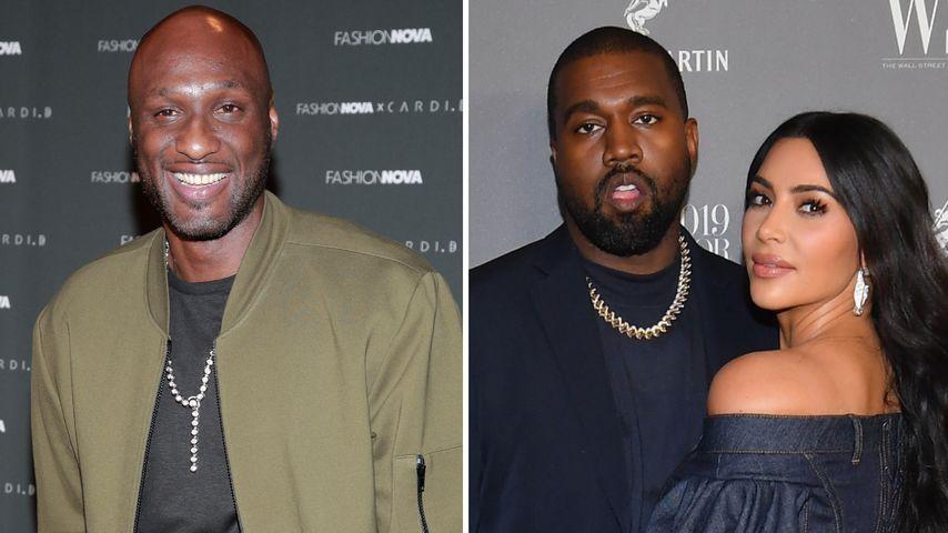 Khloés Ex-Mann Lamar Odom gibt Kim und Kanye Scheidungstipps