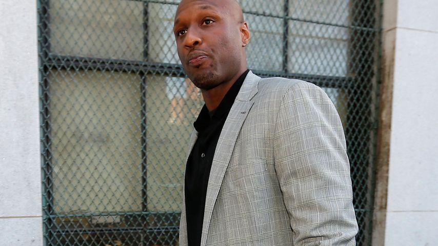 Lamar Odom in New York City