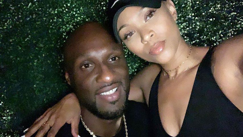 Von Verlobung im Netz erfahren: Lamar Odoms Sohn ist sauer!