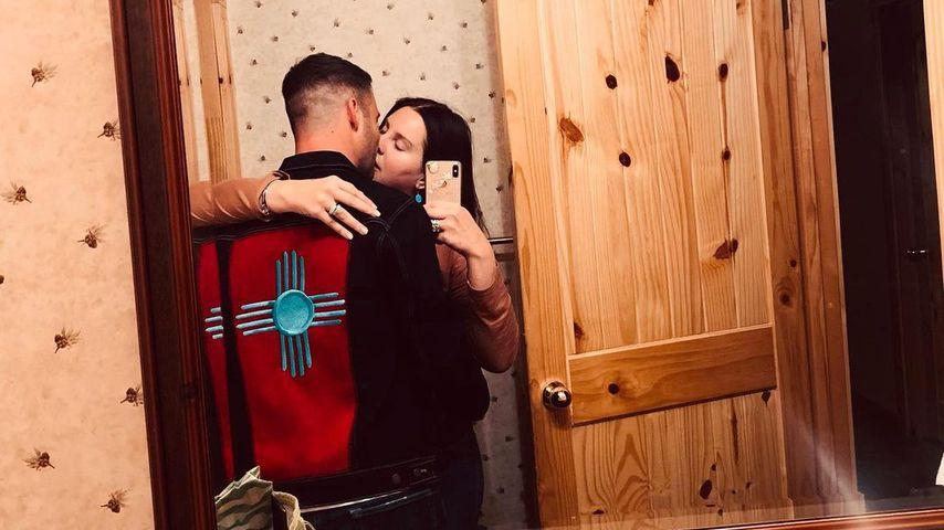 Clayton Johnson und Lana Del Rey auf Instagram, Februar 2021