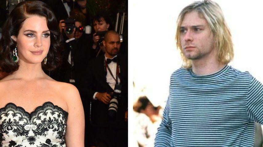 Lana Del Rey: Heimliche Beziehung zu Kurt Cobain!