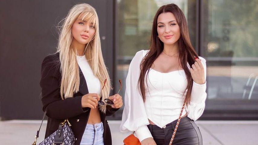 Lara-Marie Zielke und Jennifer Degenhart, Freundinnen
