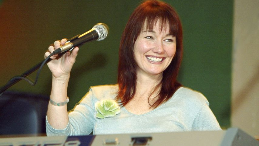 Lari White 2004 im Club Med in Colorado
