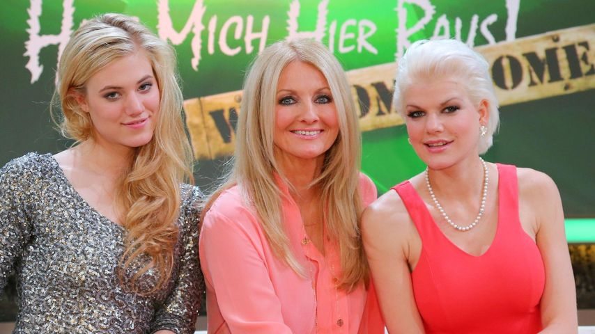 Melanie Müller, Larissa Marolt und Frauke Ludowig