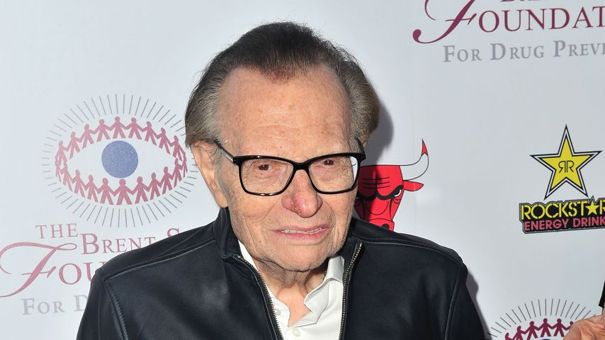 Larry King im September 2018 in Beverly Hills