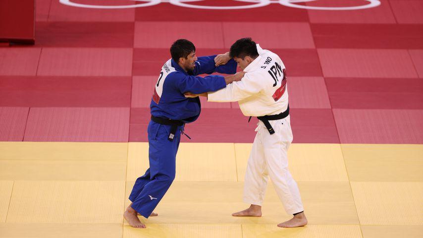 Lasha Shavdatuashvili bei den Olympischen Spielen 2020