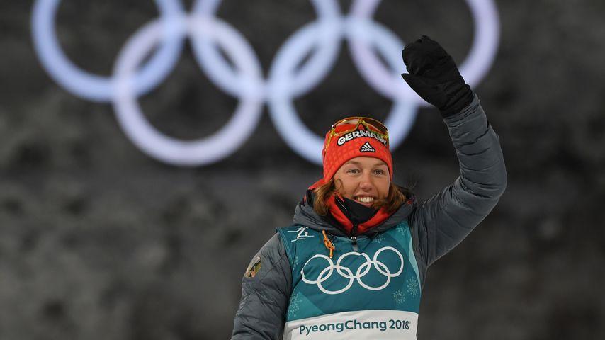 Laura Dahlmeier bei den Olympischen Winterspielen 2018