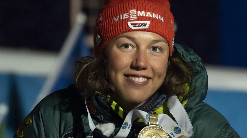 Laura Dahlmeier 2019 in Schweden