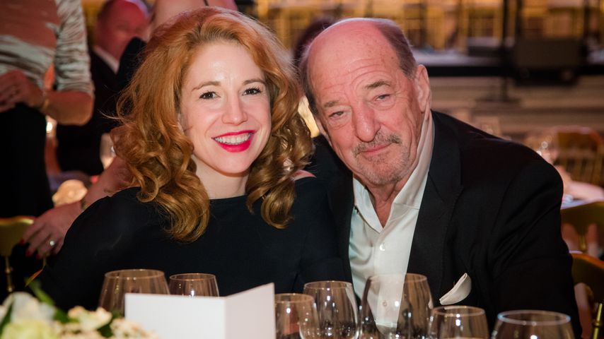 Laura Käfer und Ralph Siegel in Wien