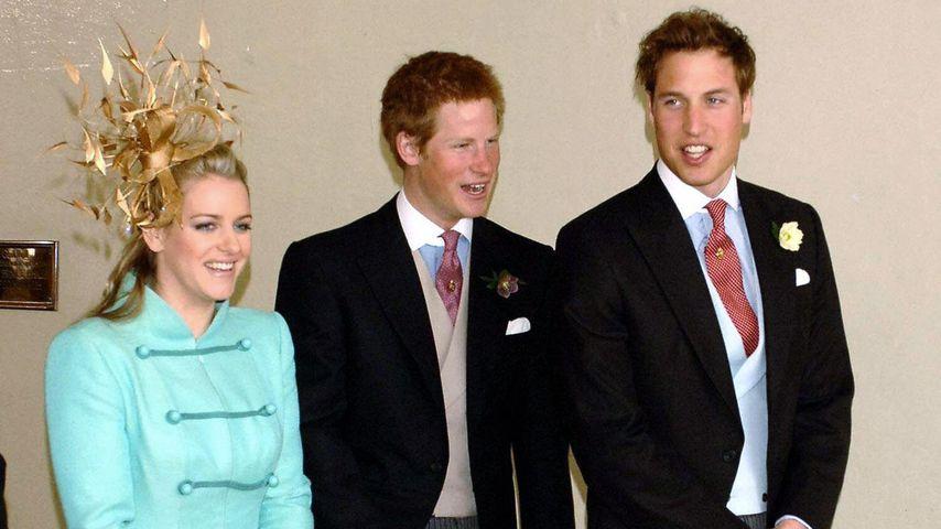 Gewusst? Prinz Harry & Prinz William haben Stiefschwester!