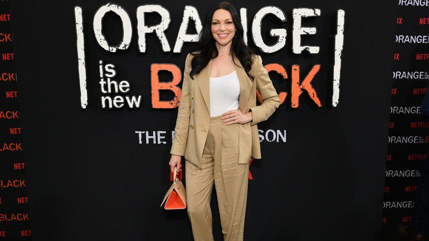 """Laura Prepon bei der Premiere der siebten """"Orange is the New Black""""-Staffel in NYC im Juli 2019"""