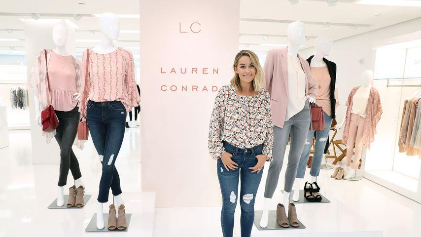 Lauren Conrad bei einem Fashion-Event in einem ihrer Shops