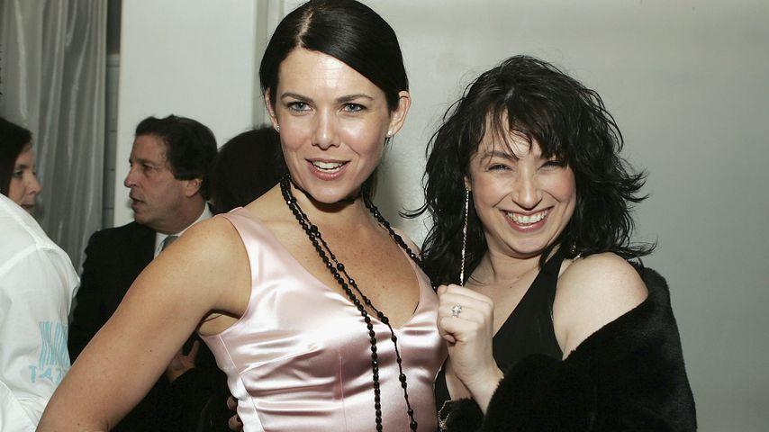 Lauren Graham und Amy Sherman-Palldino, Dezember 2004