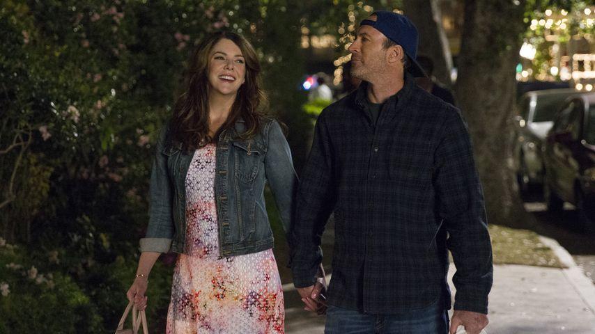 """Lauren Graham und Scott Patterson in der neuen Staffel """"Gilmore Girls"""""""