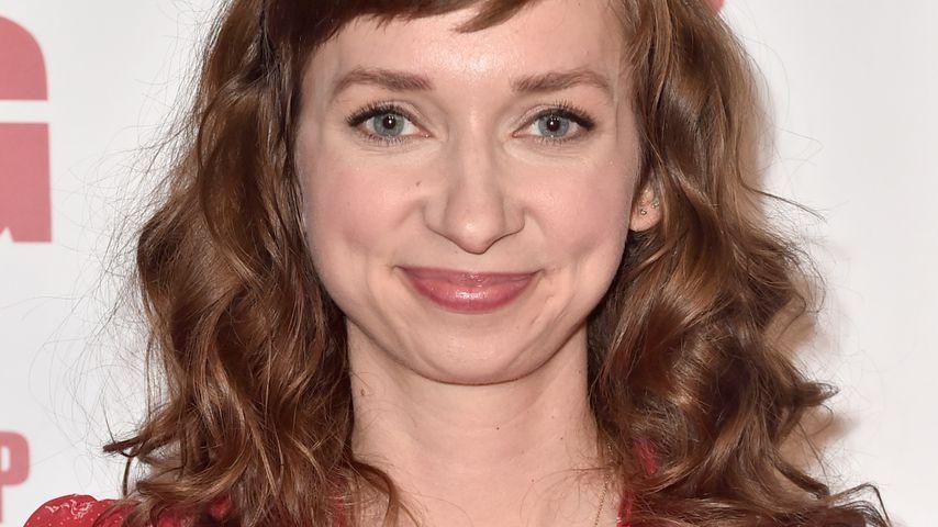 "Lauren Lapkus auf einer ""The Big Bang Theory""-Party in Pasadena im Mai 2019"
