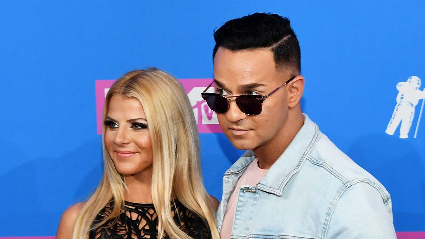 Lauren Pesce und Mike Sorrentino bei den MTV Video Music Awards 2018