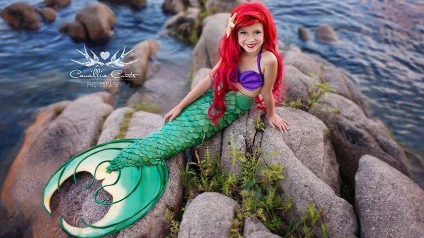 Zauberhaft: Mama macht 7-Jährige zur Disney-Prinzessin