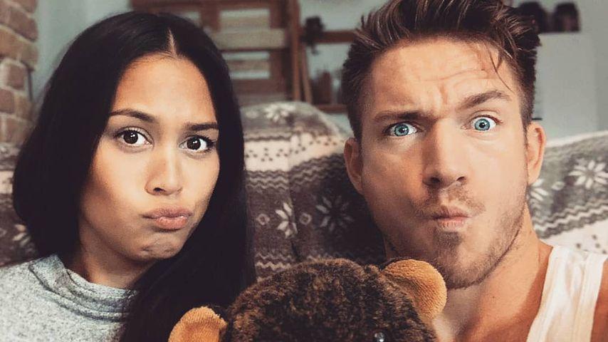 Lea und ihr Freund Patrick Fabian im November 2019