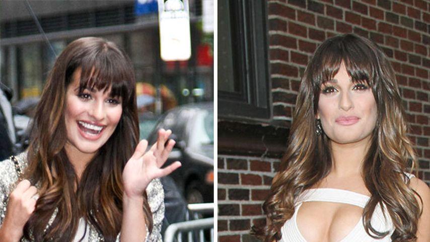 Lea Michele: 1 Tag, 1x Schulmädchen, 1x Sexbombe