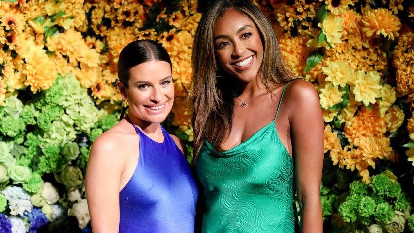 Lea Michele und Tayshia Adams bei einem Event im Juni 2021