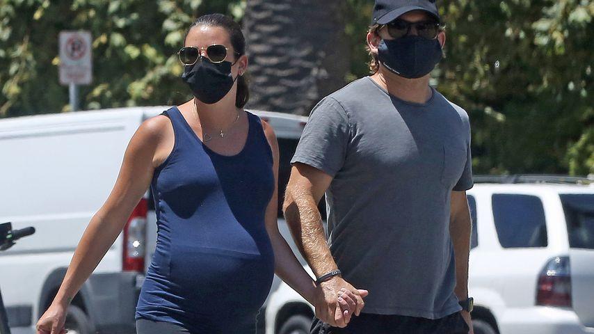 Lea Michele und Zandy Reich im August 2020