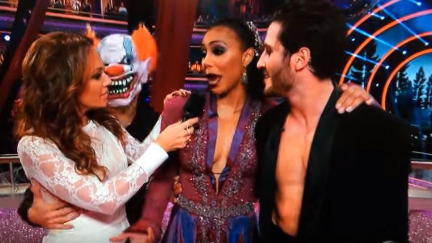 Angst vor Clowns! Leah Remini fällt vor Panik auf die Nase