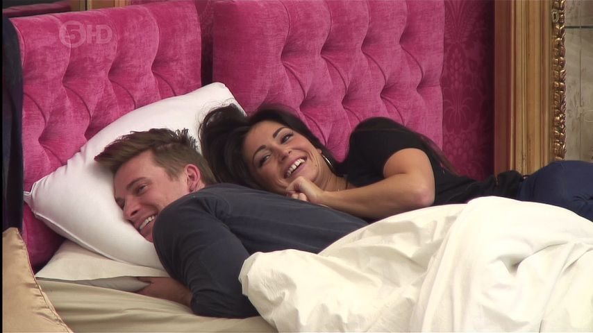 "Lee Ryan und Casey Batchelor bei ""Celebrity Big Brother"""