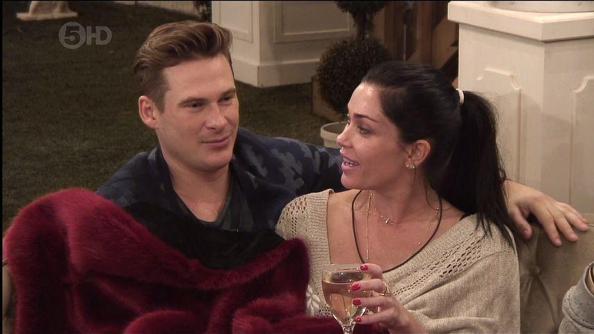 """Lee Ryan und Jasmine Waltz bei """"Celebrity Big Brother 2014"""""""