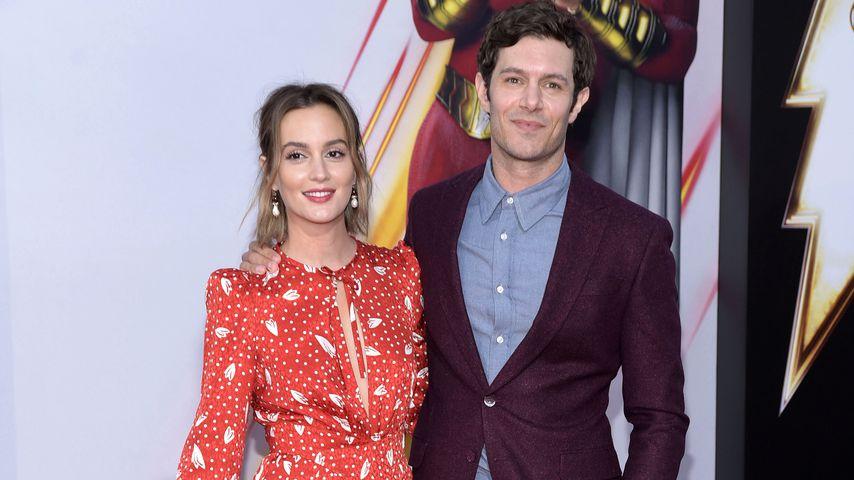 """Leighton Meester und Adam Brody auf der Weltpremiere von """"Shazam!"""", 2019"""