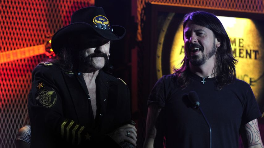 Lemmy Kilmister und Dave Grohl