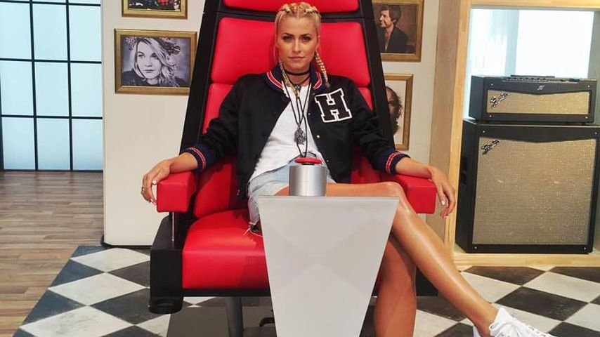 "Lena Gercke, ""The Voice of Germany""-Moderatorin"