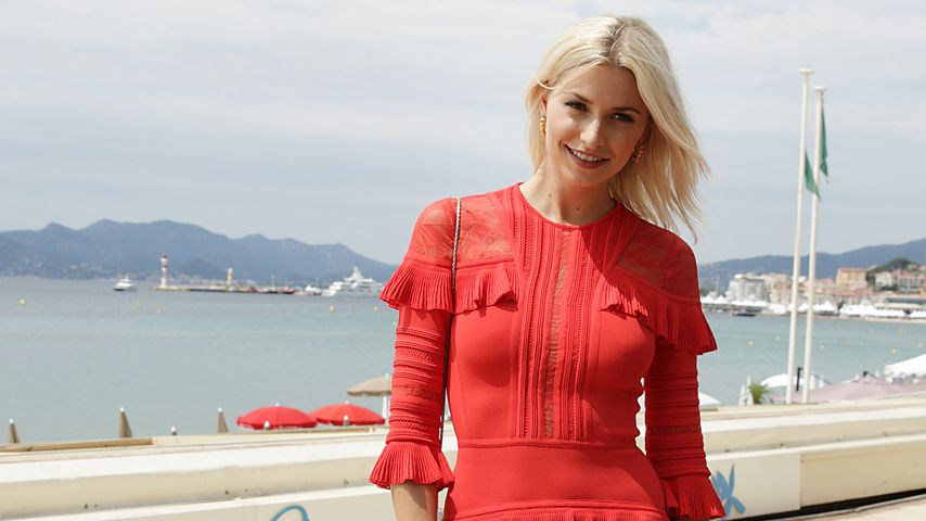 Lena Gercke in Cannes