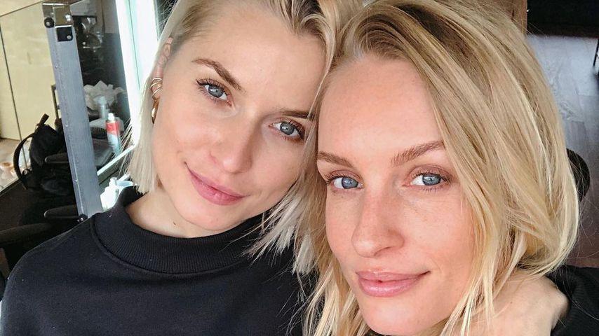 Lena Gercke mit ihrer besten Freundin Marlies Pia