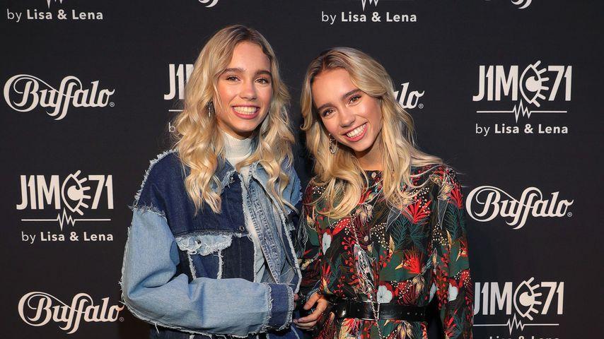 Lena und Lisa beim Release ihrer Buffalo-Kollektion