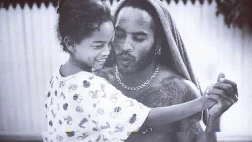Lenny Kravitz ehrte Tochter Zoë mit Kindheitsfoto