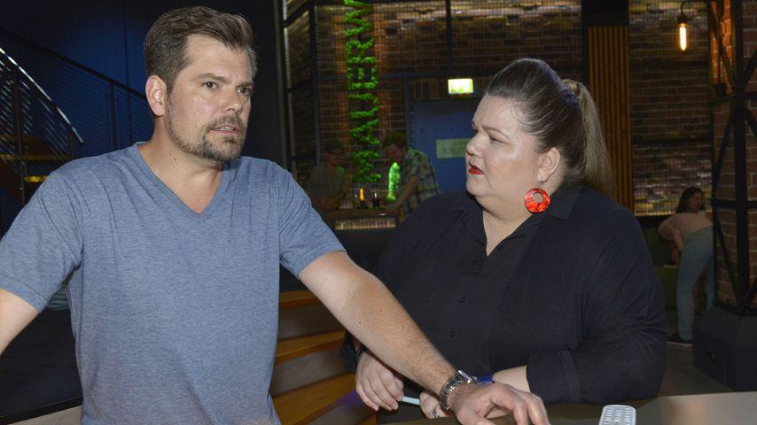 Leon (gespielt von Daniel Fehlow) und Nicole (Manuela Wisbeck) bei GZSZ