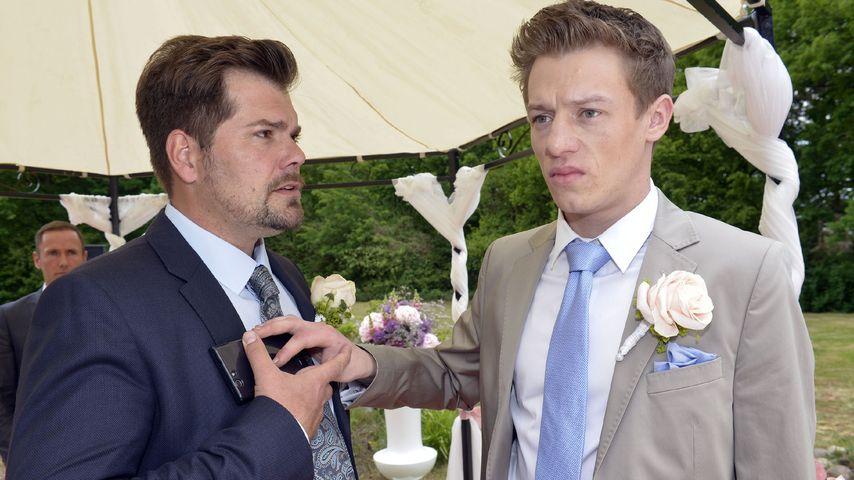 Leon (Daniel Fehlow) und Vince (Vincent Krüger)