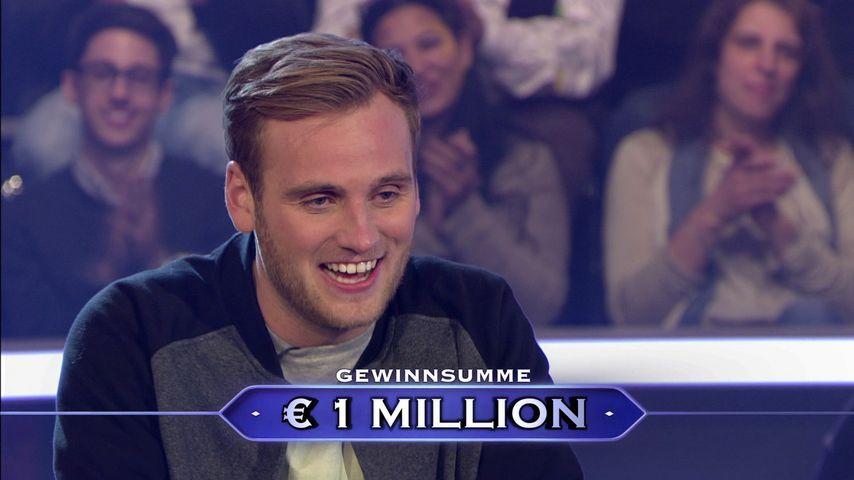"""""""Wer wird Millionär?"""": Leon (26) gewinnt die Million"""