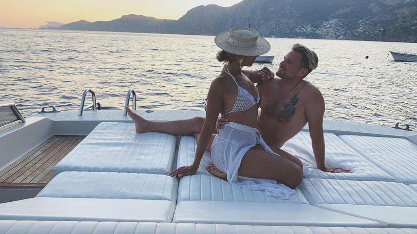 Leona Lewis und Dennis Jauch in Italien
