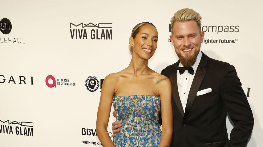 Leona Lewis und Dennis Jauch bei den Oscars 2017