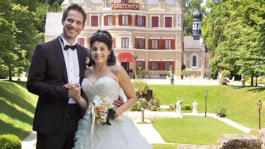 "Leonard (Christian Feist) und Pauline (Liza Tzschirner), ""Sturm der Liebe""-Paar Staffel 9"