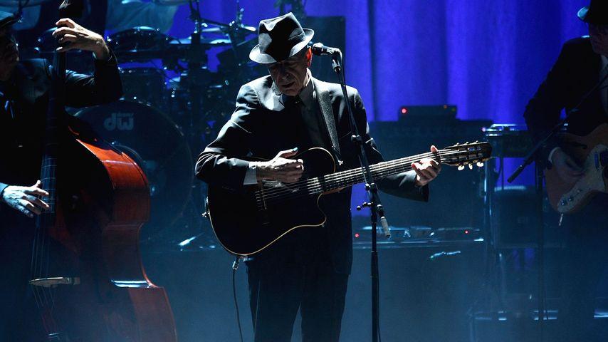 Leonard Cohen im Beacon Theatre in New York, 2009