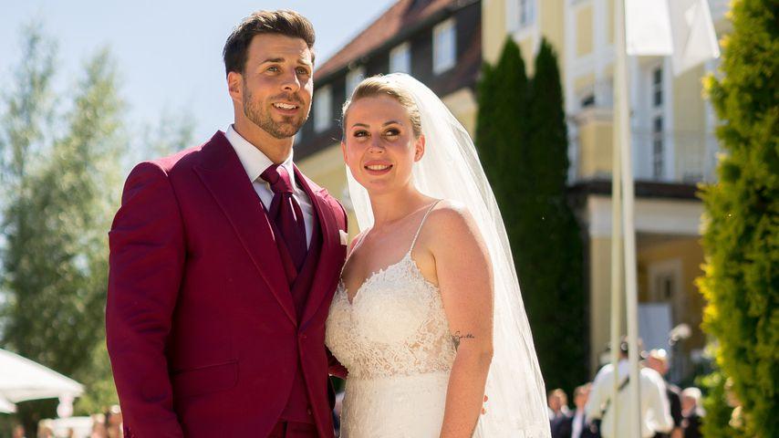 Leonard Freier und seine Caona an ihrem Hochzeitstag