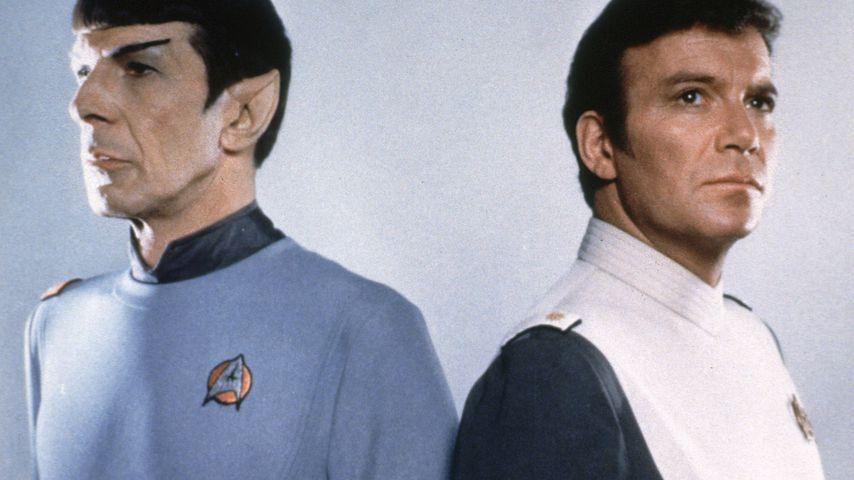 "Leonard Nimoy und William Shatner im ""Star Trek""-Film 1979"